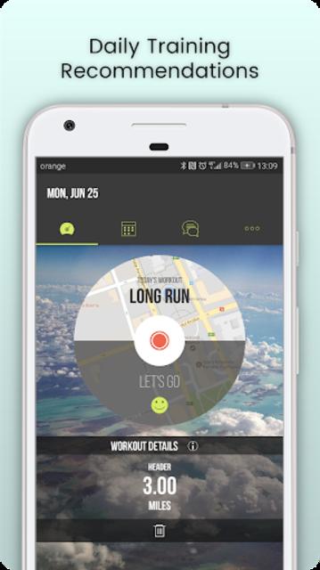 SportMe Marathon Trainer and Run Tracker screenshot 1