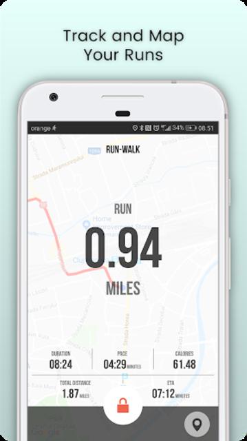 SportMe Marathon Trainer and Run Tracker screenshot 2