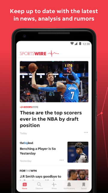 USA TODAY SportsWire: News & Videos on Your Teams screenshot 2