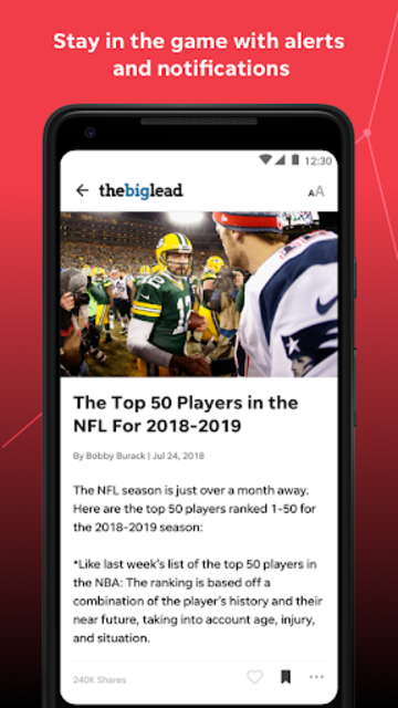 USA TODAY SportsWire: News & Videos on Your Teams screenshot 3