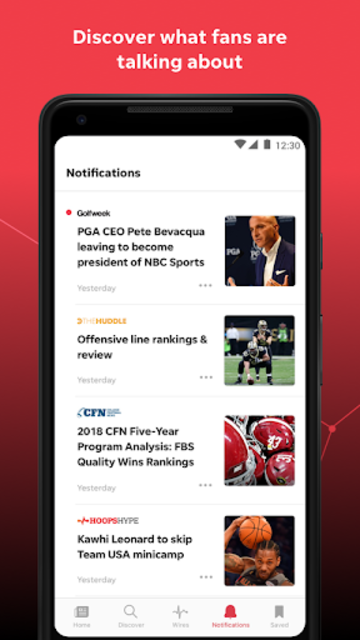 USA TODAY SportsWire: News & Videos on Your Teams screenshot 5