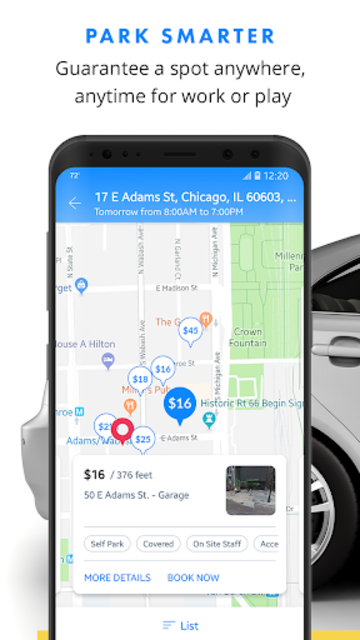 SpotHero: Find Parking Nearby screenshot 1