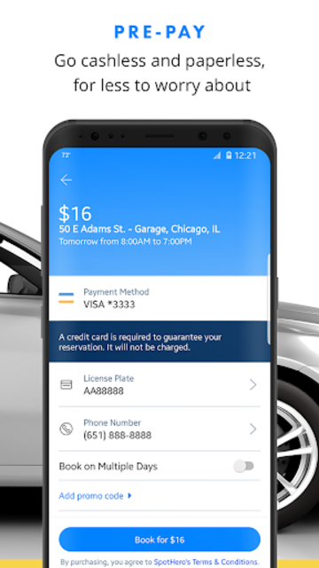 SpotHero: Find Parking Nearby screenshot 3
