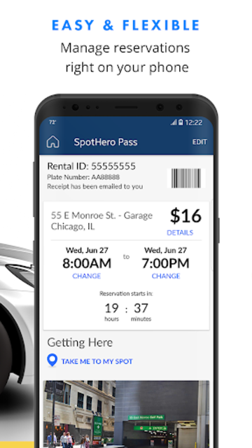 SpotHero: Find Parking Nearby screenshot 4