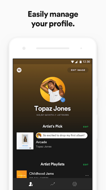 Spotify for Artists screenshot 1