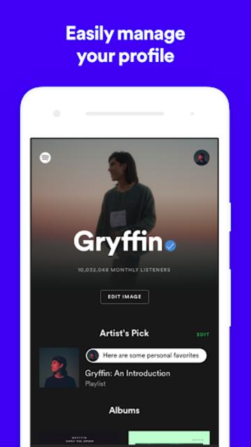 Spotify for Artists screenshot 4