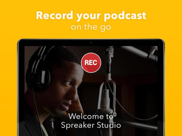 Spreaker Studio - Start your Podcast or Radio Show screenshot 8