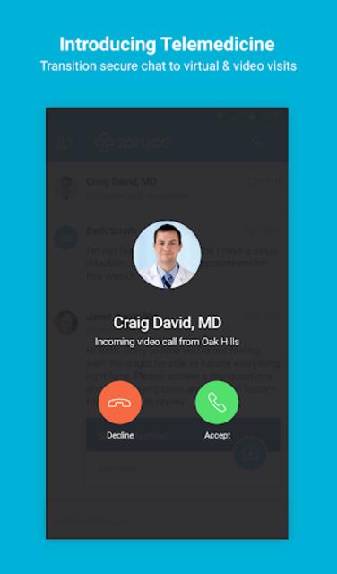 Spruce - Care Messenger screenshot 6