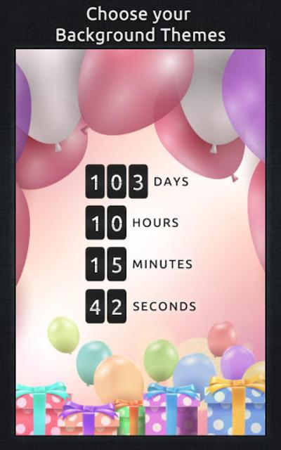 Birthday Countdown screenshot 4