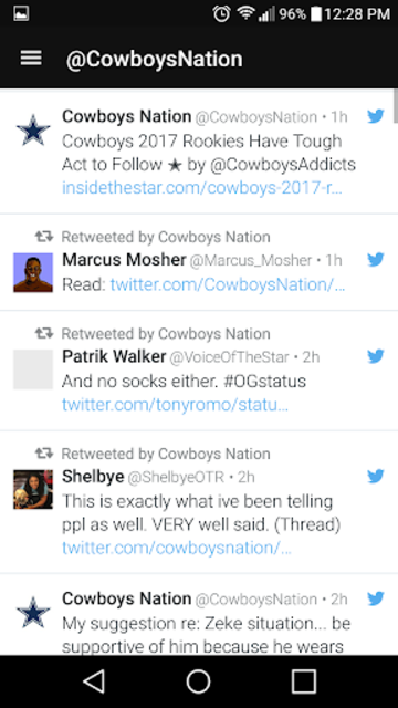 Cowboys News Feed SS screenshot 7