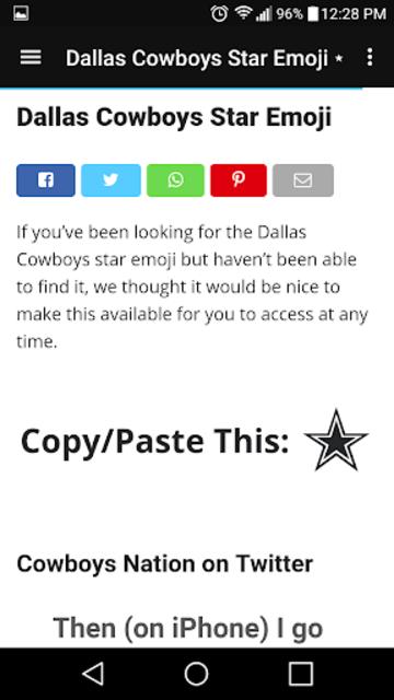 Cowboys News Feed SS screenshot 8