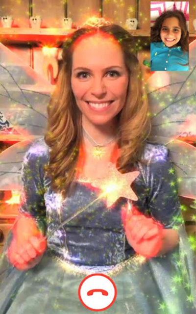 Video Calls with Tooth Fairy screenshot 1