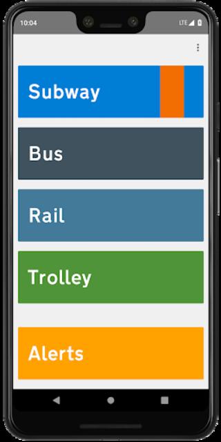 SEPTA Instant screenshot 1