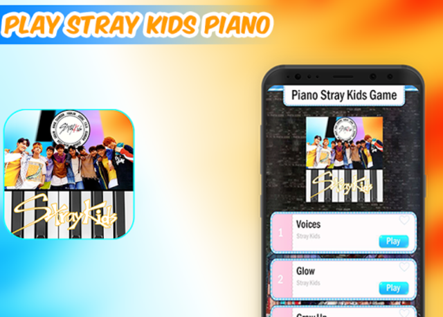 Piano Stray Kids Game screenshot 1