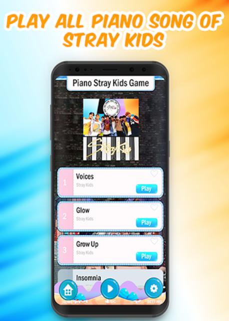 Piano Stray Kids Game screenshot 2