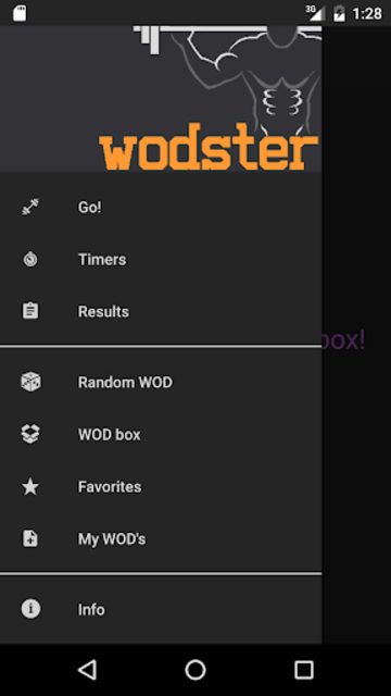 WODster - crossfit workouts! screenshot 1