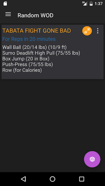 WODster - crossfit workouts! screenshot 5