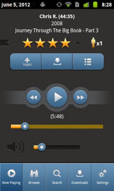 12 Steps Speakers screenshot 1