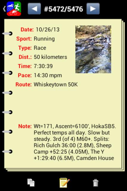 Athlete's Diary screenshot 3