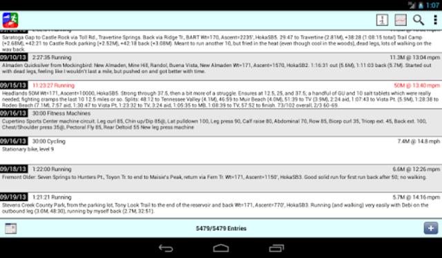 Athlete's Diary screenshot 11