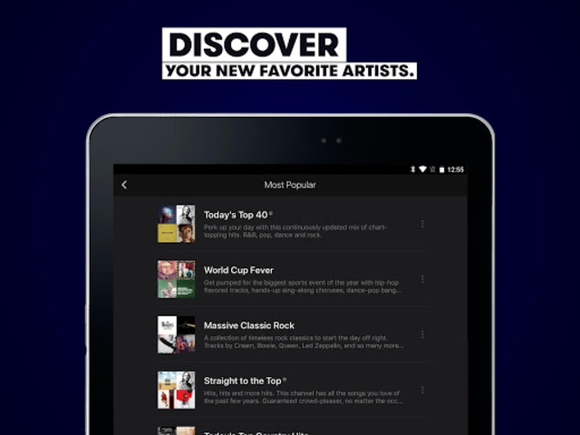 Stingray Music - Curated Radio & Playlists screenshot 15