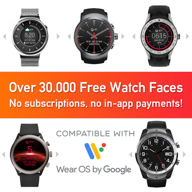 Watch Face - Minimal & Elegant for Android Wear OS screenshot 1
