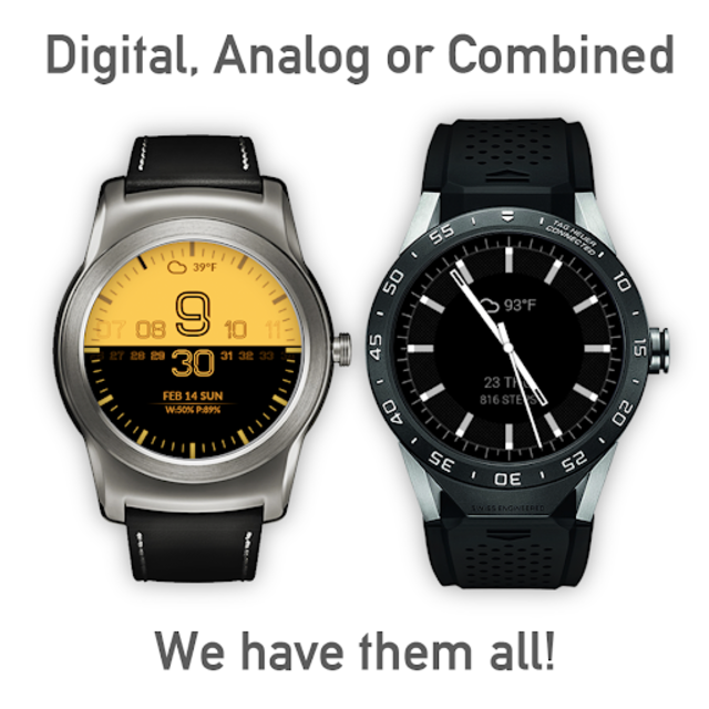 Watch Face - Minimal & Elegant for Android Wear OS screenshot 4