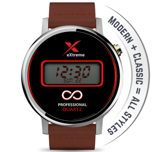 Watch Face - Minimal & Elegant for Android Wear OS screenshot 18