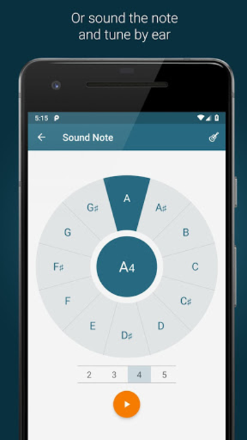 Tuner -  Pitched screenshot 3