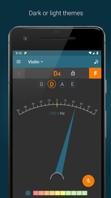 Tuner -  Pitched screenshot 5