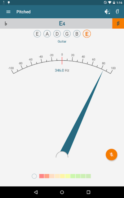 Pitched Tuner screenshot 8