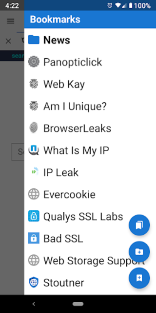 Privacy Browser screenshot 4