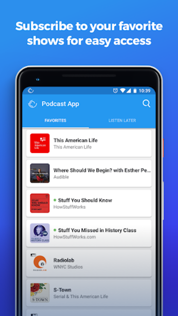 The Podcast App screenshot 3