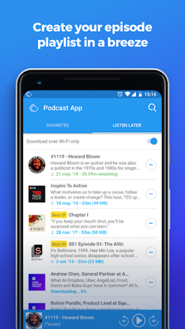 The Podcast App screenshot 5