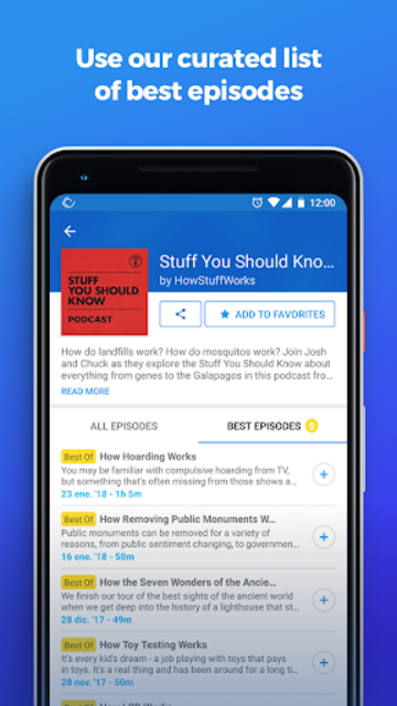 The Podcast App screenshot 8