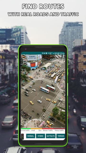 Global Live Earth Map: GPS Tracking Satellite View screenshot 4