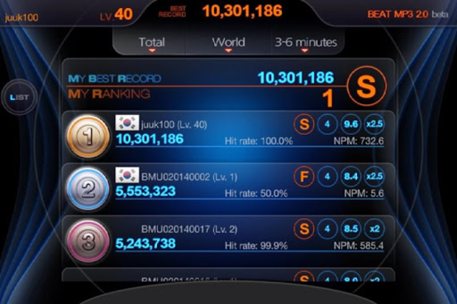 BEAT MP3 2.0 - Rhythm Game screenshot 8