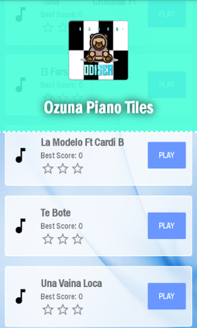 Ozuna Piano Tiles screenshot 5