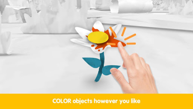Pango Paper Color - colouring book game for kids screenshot 2
