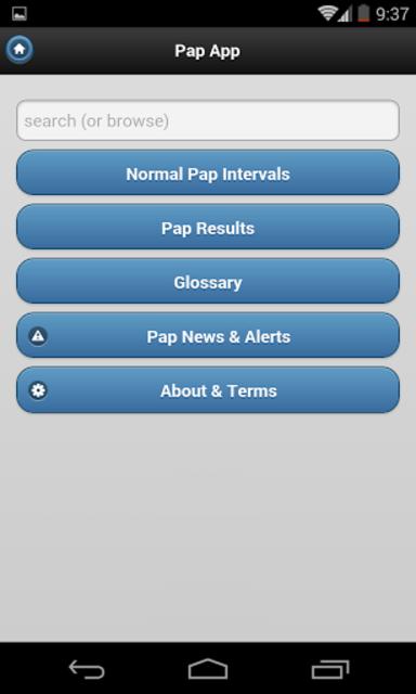 Pap App screenshot 2