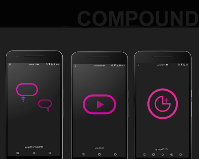 Compound for Substratum (Android Pie/Oreo/Nougat)