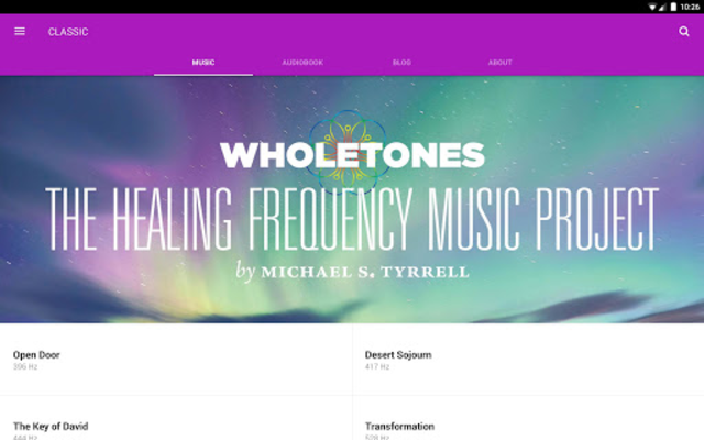 WHOLETONES The Frequency Music Project screenshot 4