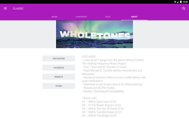 WHOLETONES The Frequency Music Project screenshot 6