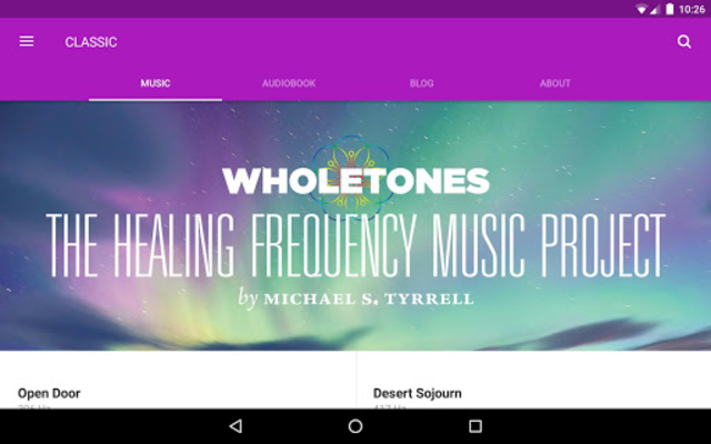 WHOLETONES The Frequency Music Project screenshot 7