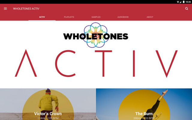 WHOLETONES ACTIV screenshot 4