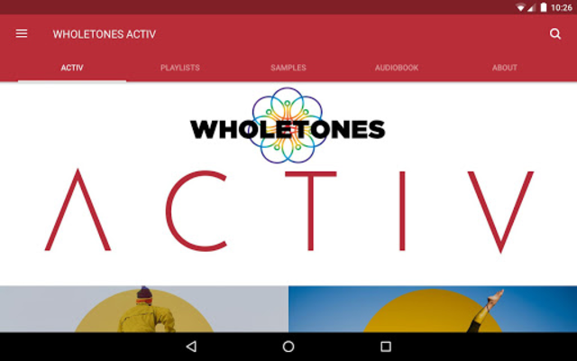WHOLETONES ACTIV screenshot 7