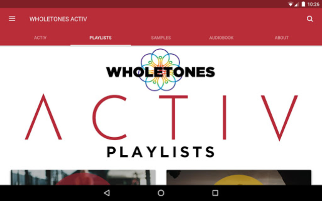 WHOLETONES ACTIV screenshot 8