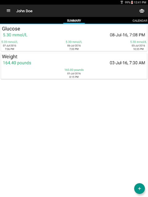 Diabetes Journal License screenshot 10