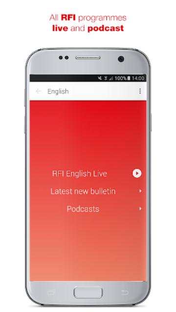 RFI Pure radio screenshot 2