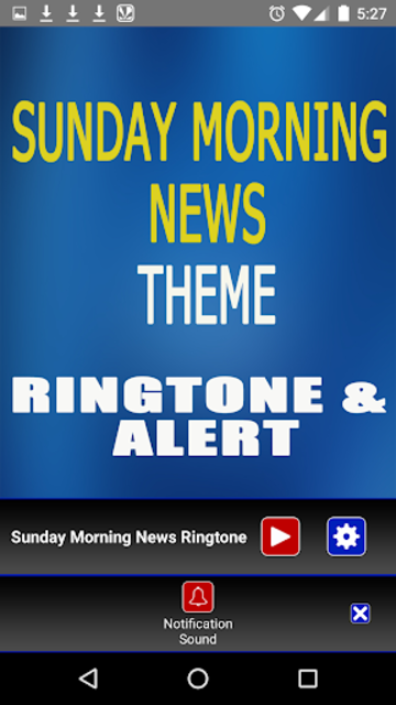 Sunday Morning News Ringtone screenshot 4